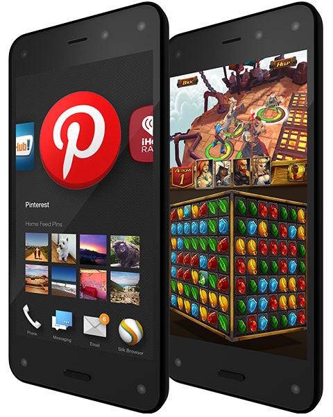 Amazon fire phone makes 3d shopping a reality