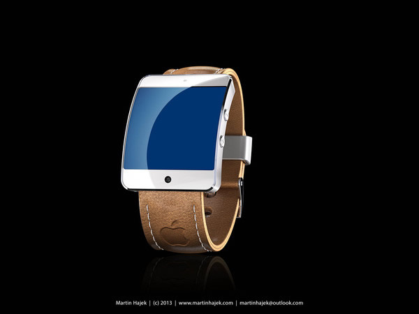 Apple iWatch 5S Concept Brown