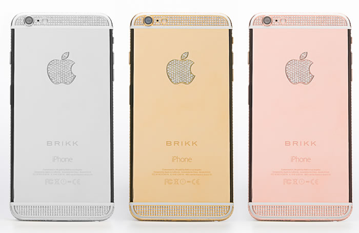 Apple iPhone 6 Luxury Diamond And Gold