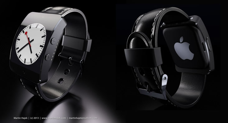 Apple iWatch 5S Concept Black