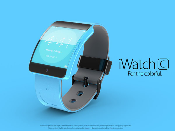 Apple iWatch 5C Concept