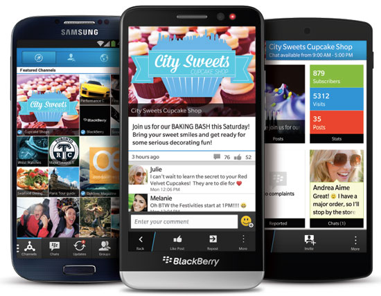 BBM 2.0 for Android and iOS