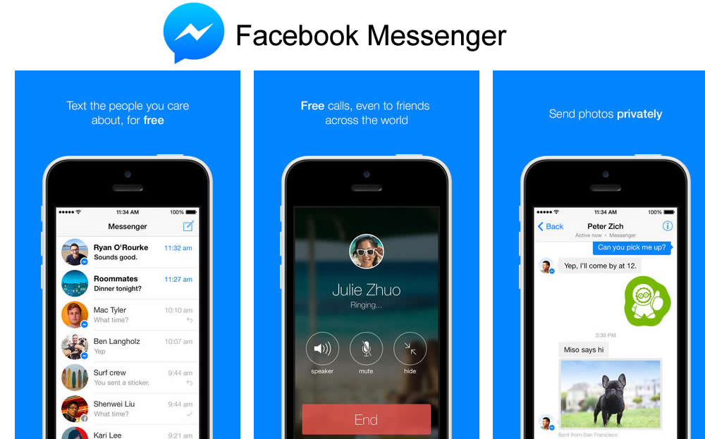 facebook chat app mobile