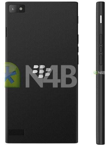 BlackBerry Z3 Back and Side