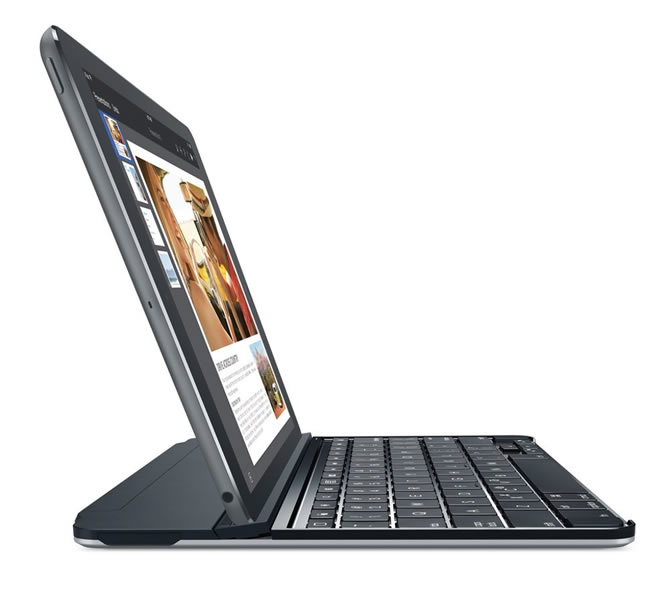 Logitech Ultrathin Magnetic Clip On Keyboard