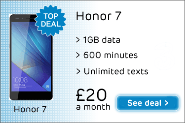 Best Honor 7 deal on Three