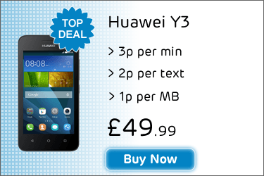 Huawei Y3 Pay As You Go