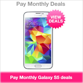 Samsung Galaxy S5 Pay Monthly