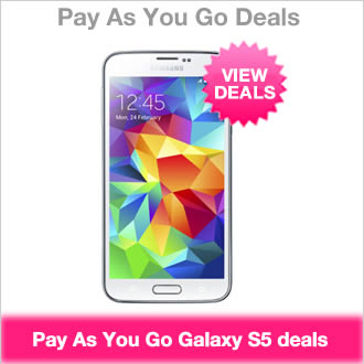 Samsung Galaxy S5 Pay As You Go