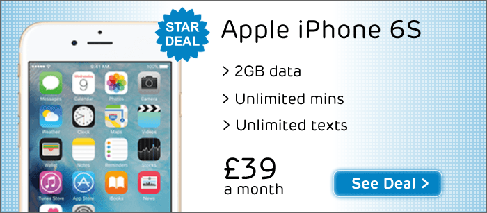 Best iPhone 6S Deal on Three