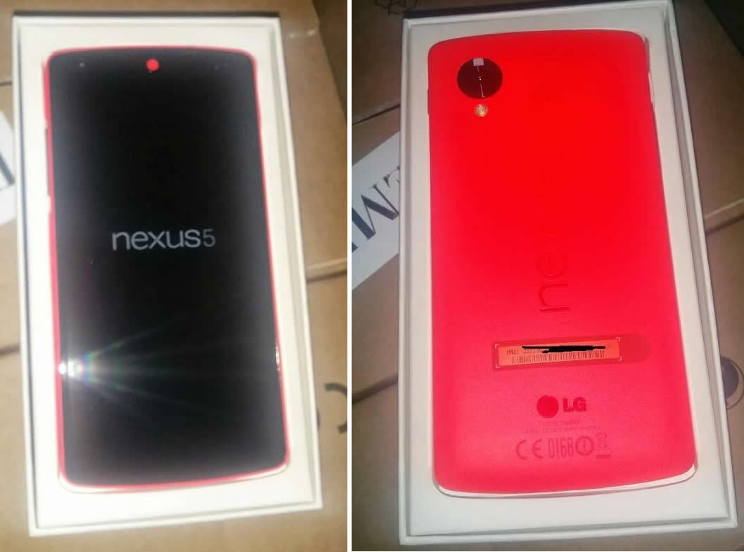 Google Nexus 5 Red