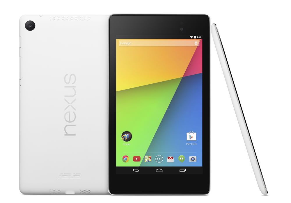 Google Nexus 7 White Hero