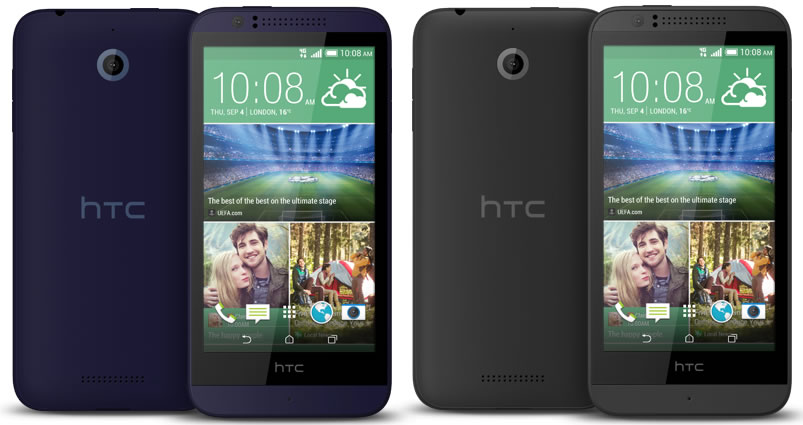 HTC Desire 510 Blue and Grey