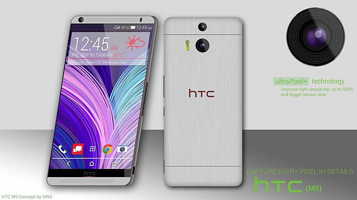 HTC One M9 concepts emerging already