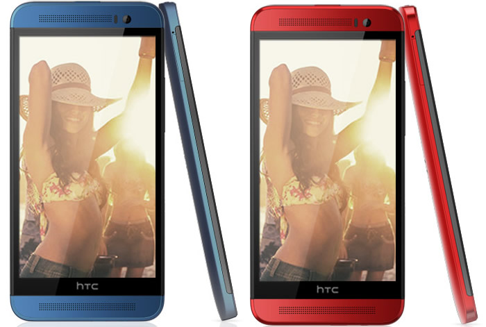 HTC One M8 Ace Red and Blue