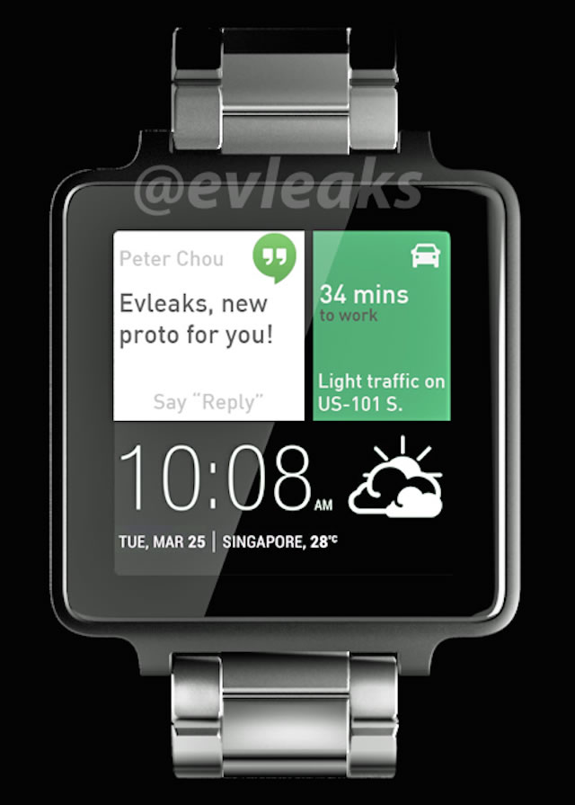 HTC Watch Leaked