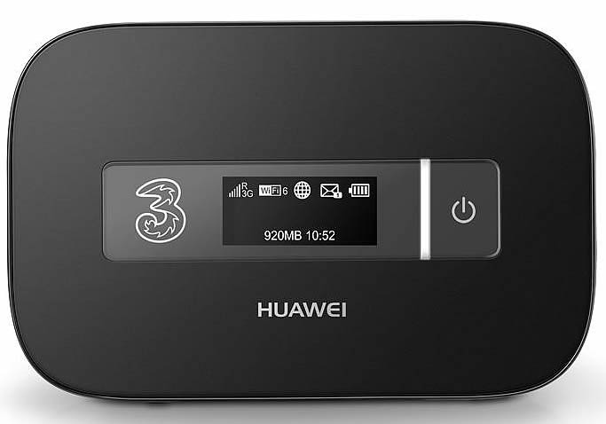 Huawei E5372 4G MiFi Lands On Three