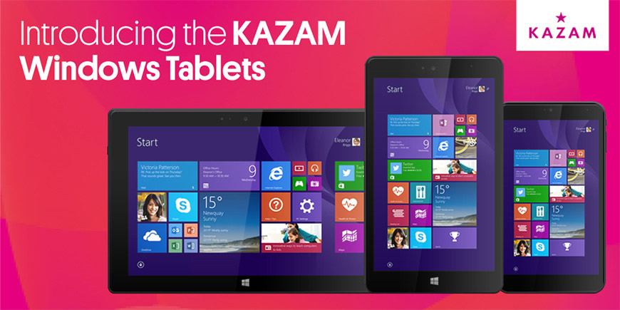 Kazam launches an onslaught of new phones and tablets