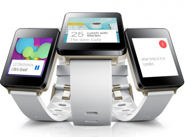 LG G Watch available now