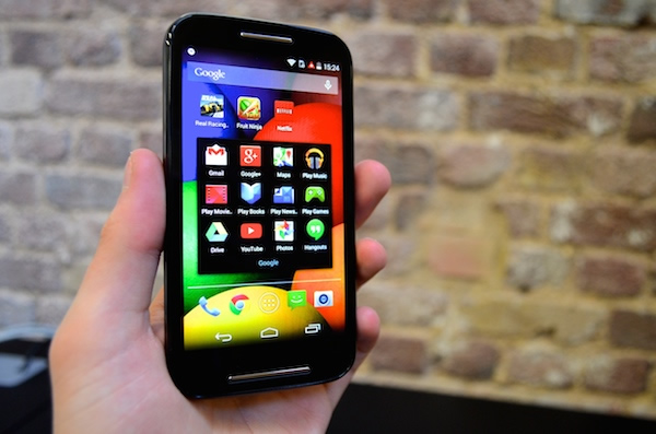 Moto E Display