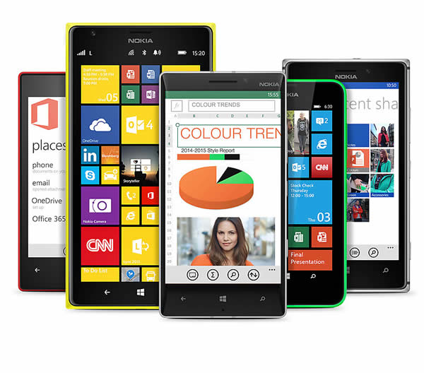 Lumia is built for business
