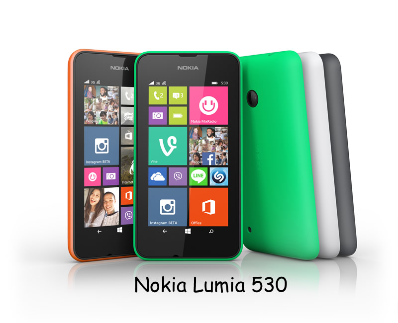 Nokia Lumia 530 - All Colours