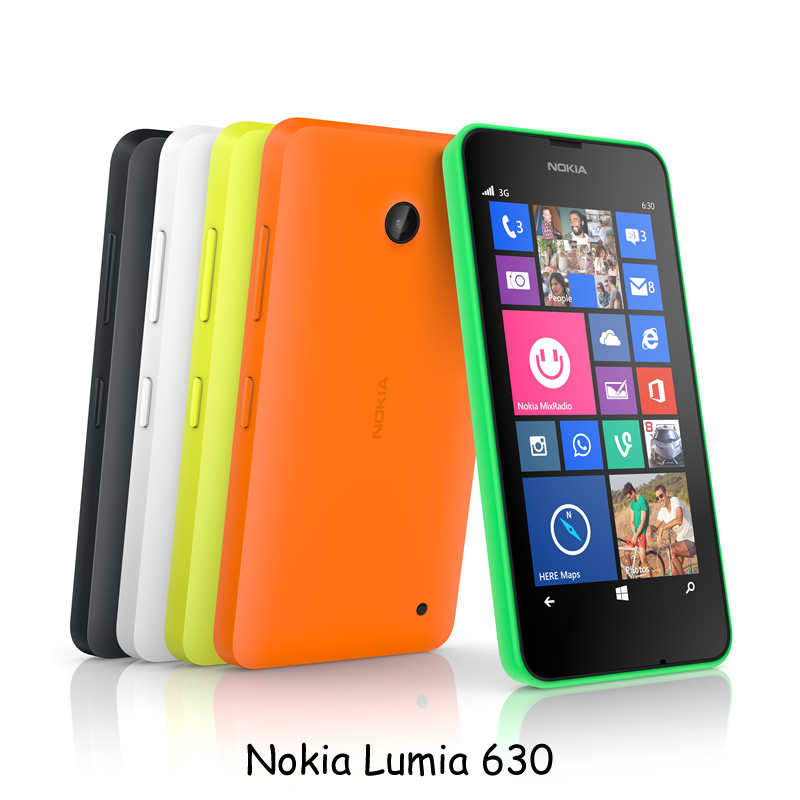 Nokia Lumia 630 - All Colours