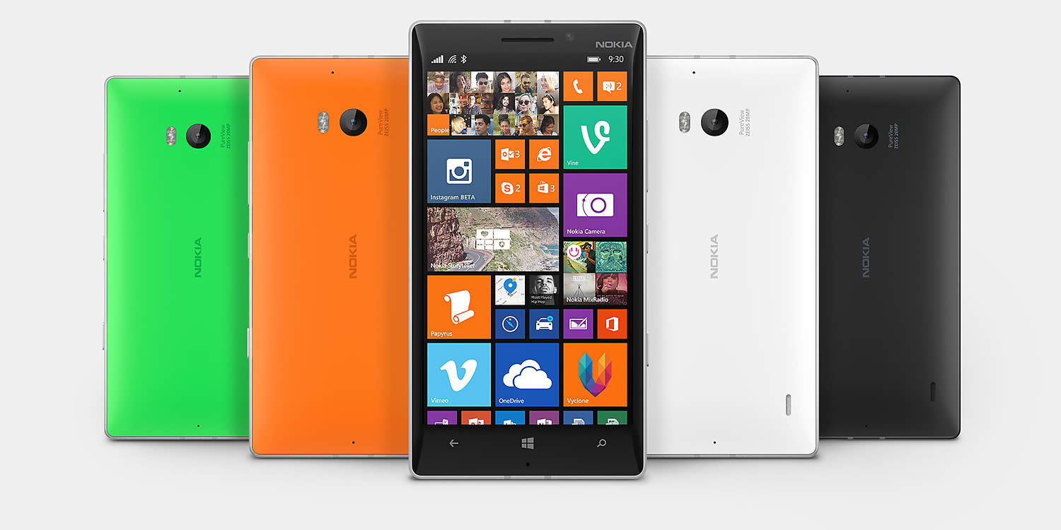 Nokia Lumia 930 Design