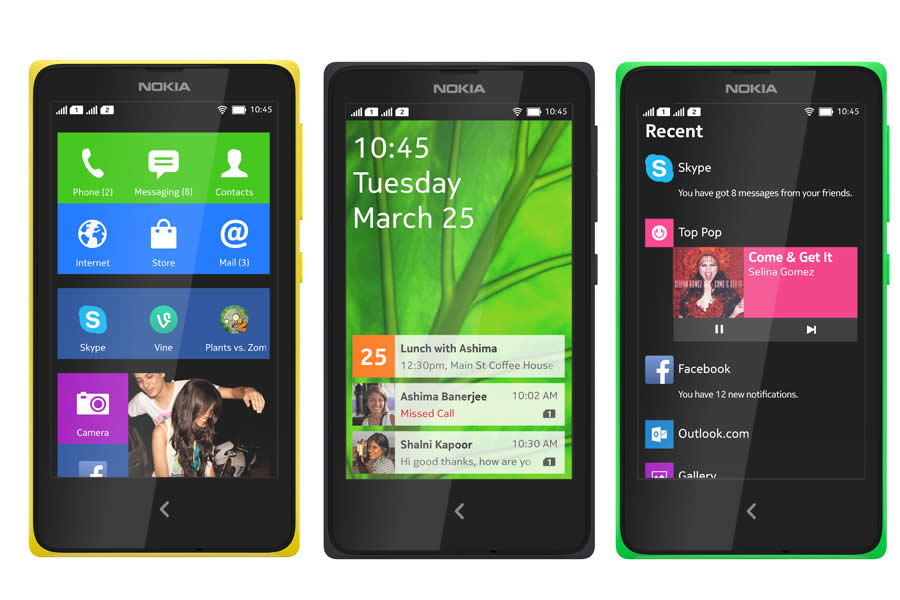 Nokia unveil trio of super-affordable Nokia X smartphones