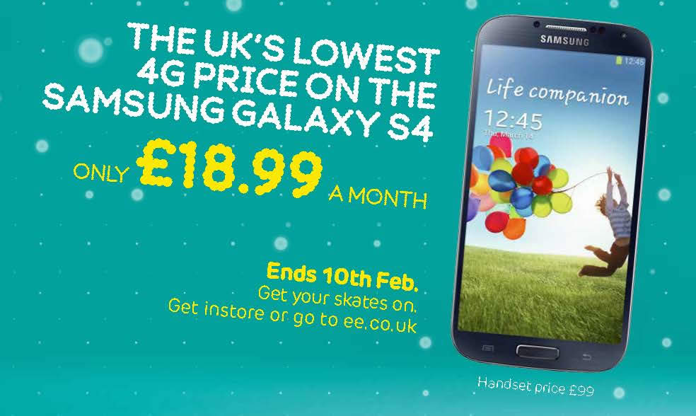 Samsung Galaxy S4 No Brainer Deal