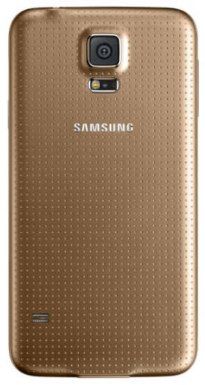 Samsung Galaxy S5 Gold only on Vodafone