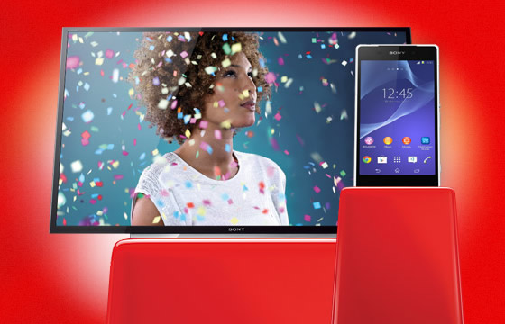 Vodafone Xperia Z2 Free TV Offer