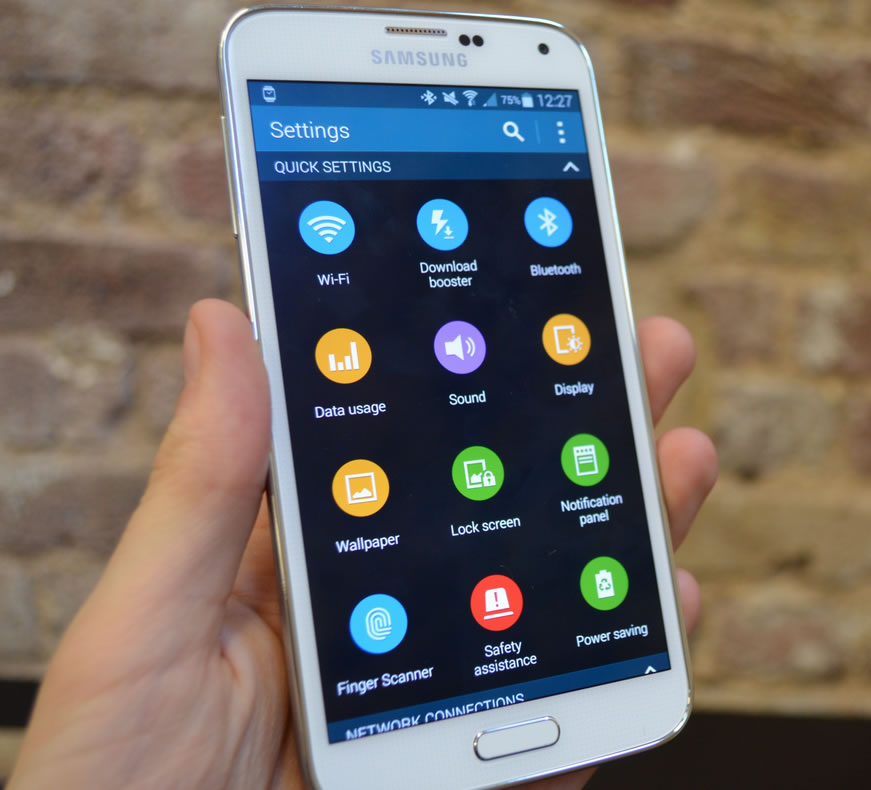 Samsung Galaxy S5 Review SOftware