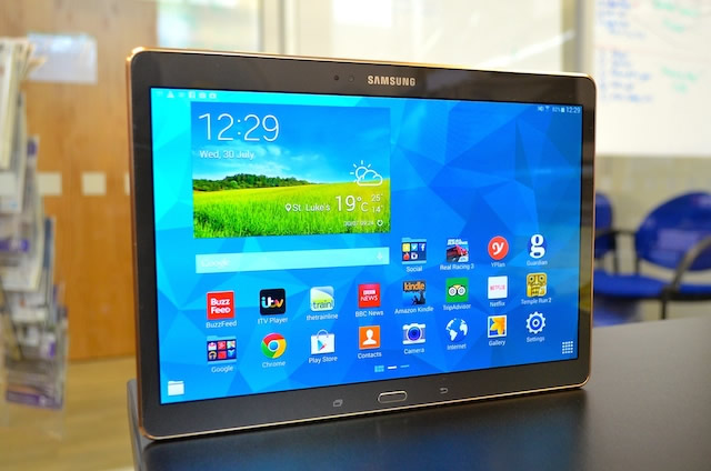 Samsung Galaxy Tab S 10.5 - Best 10 inch tablets