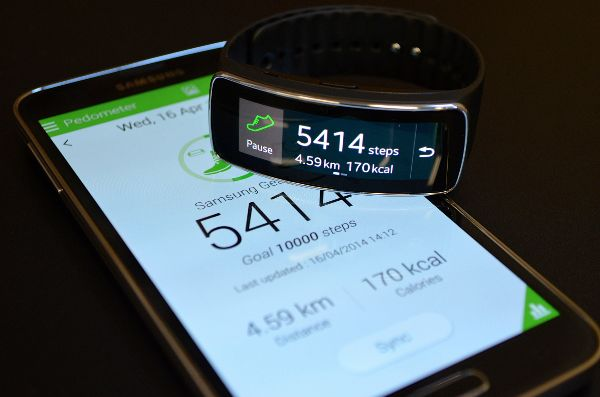 Samsung Gear Fit S-Health