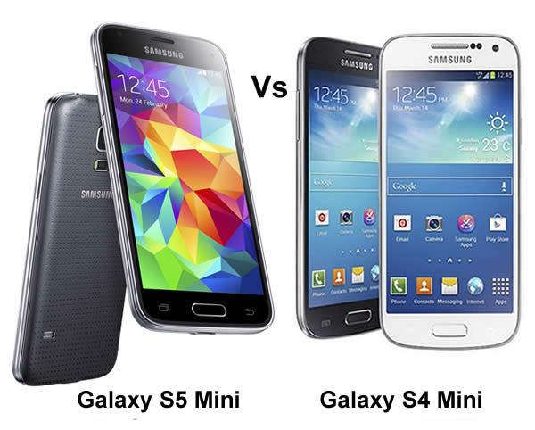 Samsung Galaxy s5 Mini Samsung Galaxy s4 Mini Samsung Galaxy s5 Mini vs