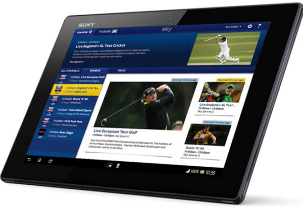 Tablet Sky Go