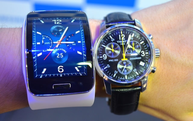 Samsung Gear S Hands-On: The smartwatch that can replace ...