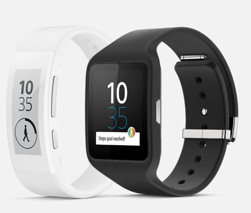 Sony announces the SmartWatch 3 and SmartBand Talk