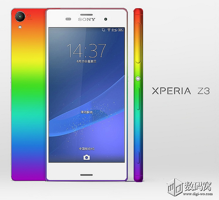 Sony Xperia Z3 surfaces in eye-catching renders