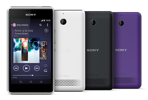 Best Cheap Smartphones - Sony Xperia E1