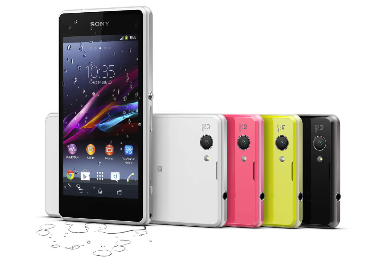 Sony Xperia Z1 Compact Colours