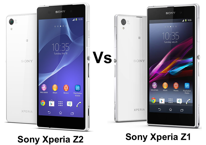 Sony Xperia Z2 Vs Sony Xperia Z1: What Are The Differences?