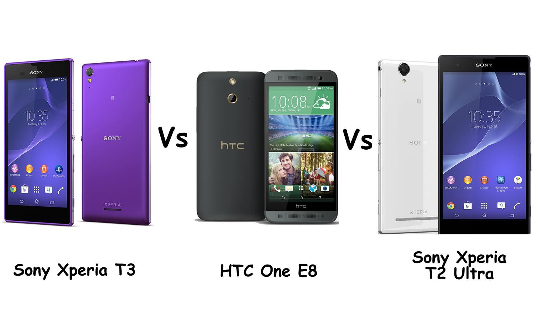 Xperia T2 Specs E8 vs Sony Xperia T2 Ultra