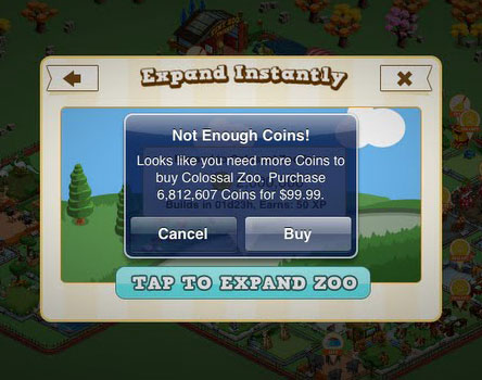 Tiny Zoo In-App Purchase