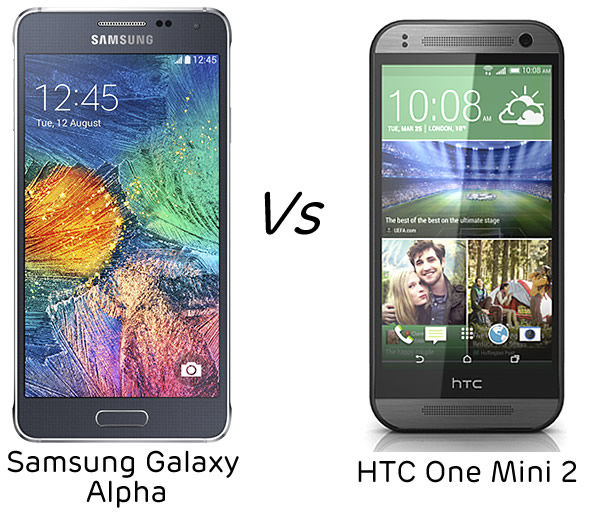 Samsung Galaxy Alpha vs HTC One Mini 2