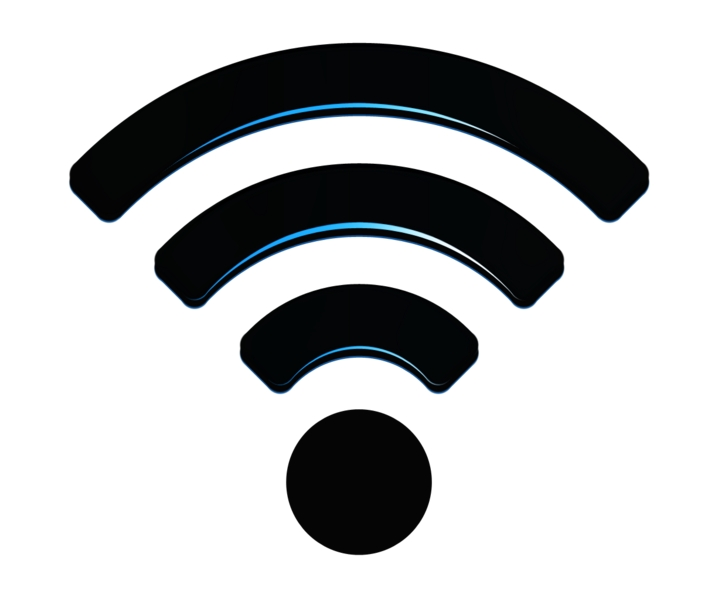 This logo represents Wi-Fi signal. Source:Wi-Fi Logo 2017