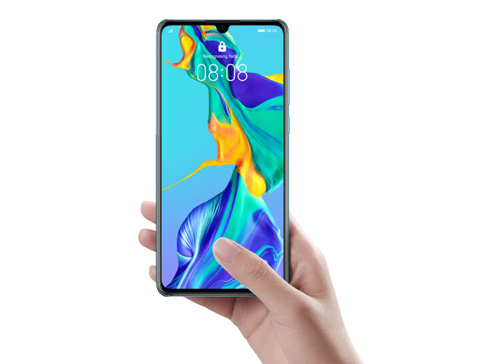 Huawei P30 Fingerprint Scanner