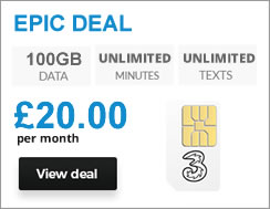 100GB Top SIM Deal