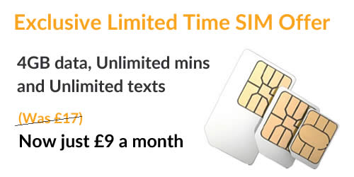 Exclusive SIM Only Deal